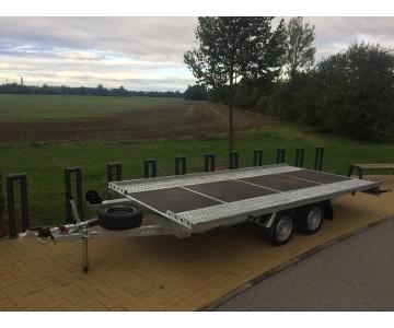 Autopřepravník NIEWIADOW - podvalník 450x210 2,7 tuny