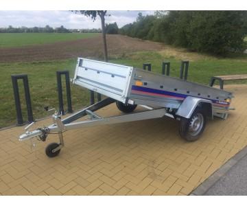 Multifunkční přívěsný vozík NIEWIADOW 263x132 na LISTOVÝCH PÉRECH