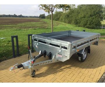 Profesionální přívěsný vozík BRŽDĚNÝ MARTZ (265x150)