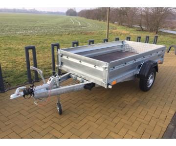 Multifunkční bržděný přívěsný vozík ZASLAW 265 SUH (265x132)