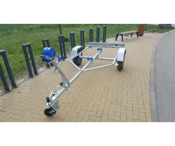 Lodní přívěsný vozík Niewiadow do 450kg