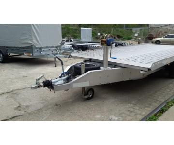 Autopřepravník 5m 3000 Kg SKLOPNÝ HLINÍK
